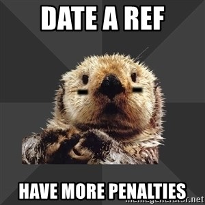 Roller Derby Otter - Date a ref have more penalties
