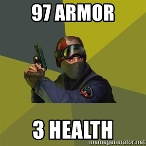 Counter Strike - 97 ARMOR 3 HEALTH