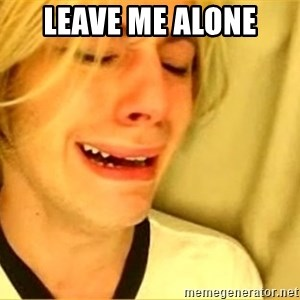 leave britney alone - leave me alone