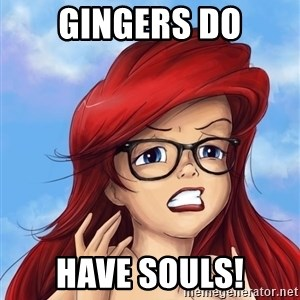 Hipster Ariel - Gingers do Have souls!