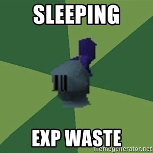 Runefag - SLEEPING EXP WASTE