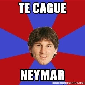 Messiya - te cague neymar