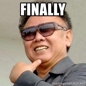 Kim Jong Il - finally