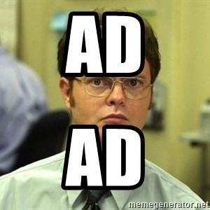 Dwight Schrute - ad ad