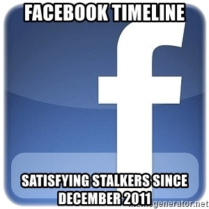 Facebook Logo - Facebook Timeline Satisfying stalkers since december 2011