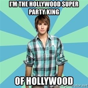Vain James - I'm the Hollywood super party king of Hollywood