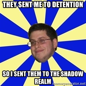 Never Touched A Booby/Denied Nerd - THEY SENT ME TO DETENTION SO I SENT THEM TO THE SHADOW REALM