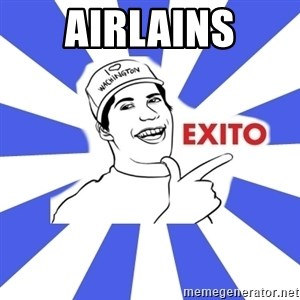 Exito Open English - Airlains