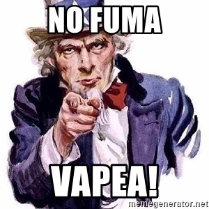 Uncle Sam Says - No fuma Vapea!