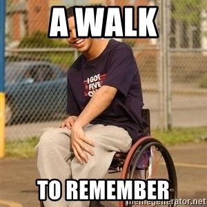 Drake Wheelchair - A WALK TO REMEMBER