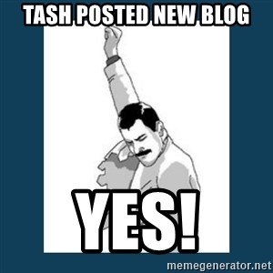 Freddy Mercury - Tash posted new blog yes!