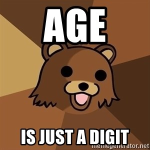 Pedobear - Age Is just a digit