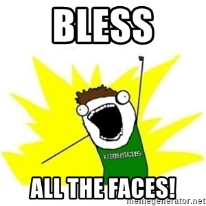 ALL THE THINGS TOBY - bless all the faces!