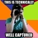 Professional Teenage Photographer - This is technically well captured