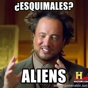 Ancient Aliens - ¿ESQUIMALES? ALIENS