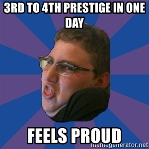 Successful Gamer - ‎3rd to 4th prestige in one day feels proud