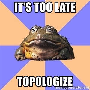 Game Art Student Bullfrog - It's too late topologize