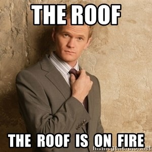 Neil Patrick Harris - the roof  the  roof  is  on  fire