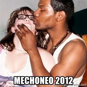 Scared White Girl - mechoneo 2012