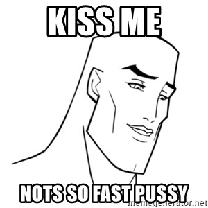 Handsome Face - Kiss me Nots so fast pussy