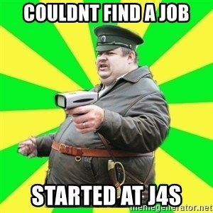 Kuban - couldnt find a job started at j4s