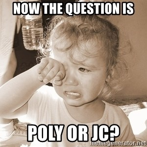 Distressed Toddler - now the question is poly or jc?