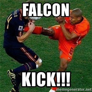 Netherlands - falcon kick!!!