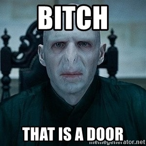 Voldemort - Bitch That is a door