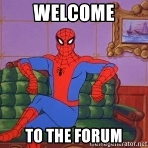 spider manf - welcome to the forum