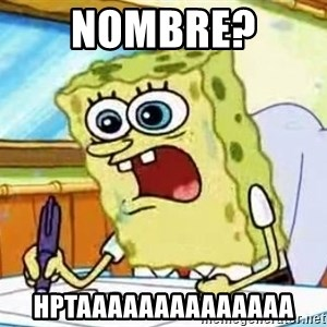 Spongebob What I Learned In Boating School Is - nombre?  hptaaaaaaaaaaaaaa