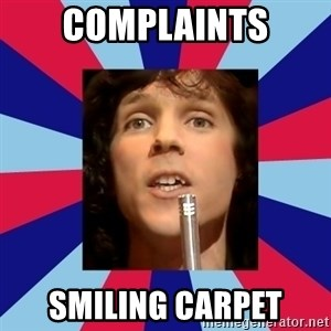 russell mael - complaints smiling carpet