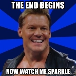 Chris JeriTROLL - The end begins Now watch me sparkle