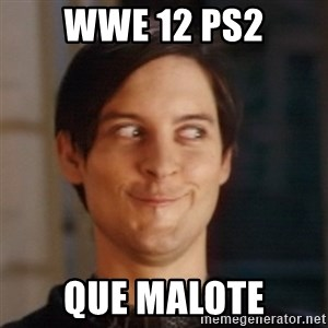 Peter Parker Spider Man - wwe 12 ps2 que malote
