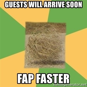 Busy Tumbleweed - guests will arrive soon fap faster
