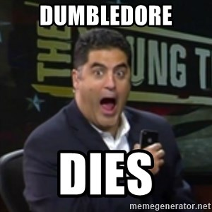 Surprised Cenk - DUMBLEDORE DIES
