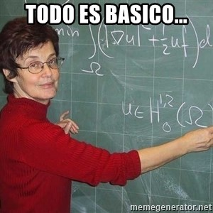 drunk Teacher - todo es basico...