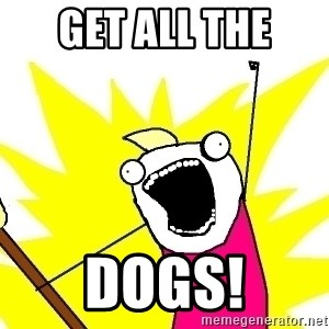 X ALL THE THINGS - Get all the  Dogs!
