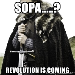 Ned Stark - Sopa.....? revolution is coming
