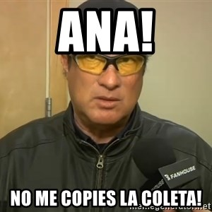 Steven Seagal Mma - Ana! No me copies la coleta!