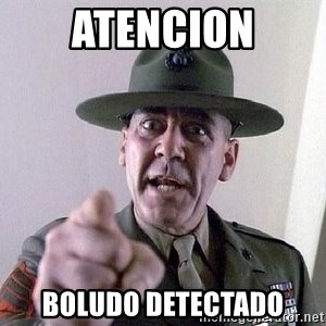 Military logic - ATENCION BOLUDO DETECTADO