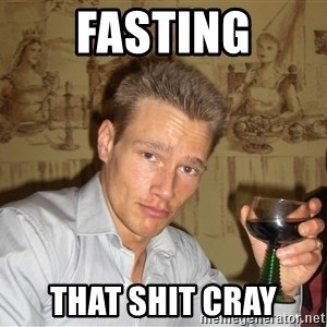 DRUNK DIET GURU - Fasting That shit cray