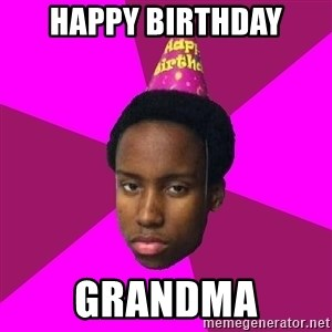 Happy Birthday Black Kid - HAPPY BIRTHDAY GRANDMA