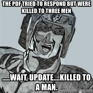 PDF Trooper - The pdf tried to respond but were killed to three men .....wait, update....killed to a man.
