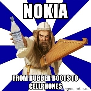 FinnishProblems - Nokia From Rubber boots to Cellphones