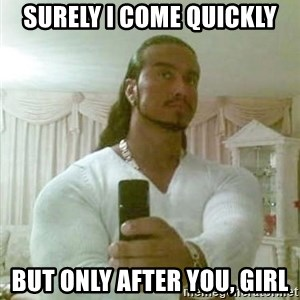 Guido Jesus - Surely I come quickly but only after you, girl