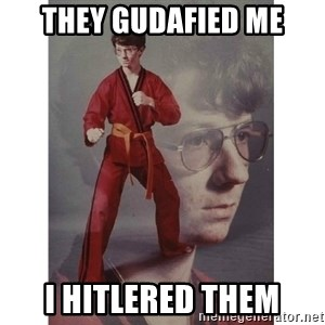 Karate Kid - They gudafied me i hitlered them