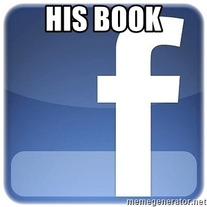Facebook Logo - HIS book