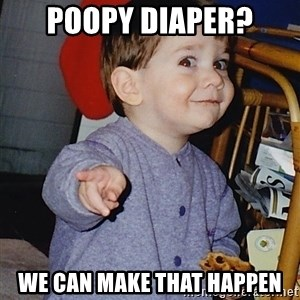 Approval Baby - Poopy diaper? We can make that happen