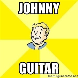Fallout 3 - johnny guitar