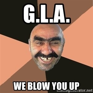 Provincial Man - g.l.a. we blow you up